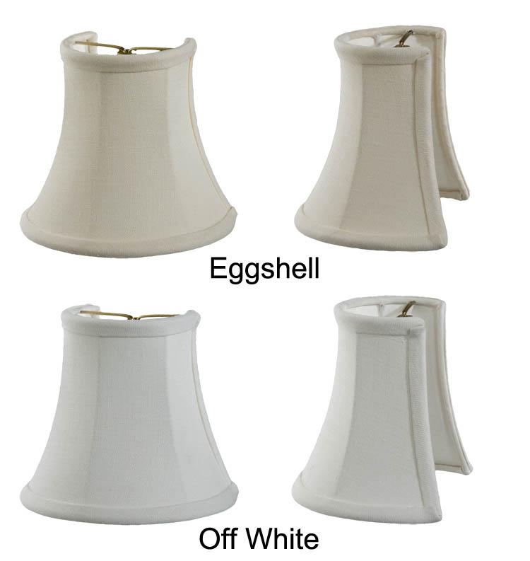 Sconce Shade Half Mini Bell Fine Linen 00684e B Amp P Lamp