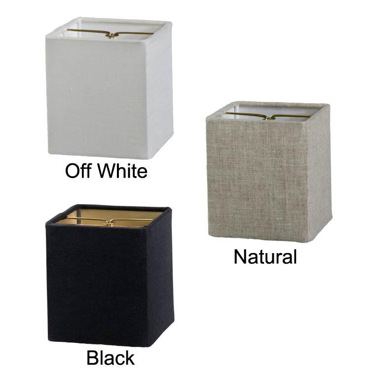 Chandelier Shade Mini Retro Square Hardback Fine Linen