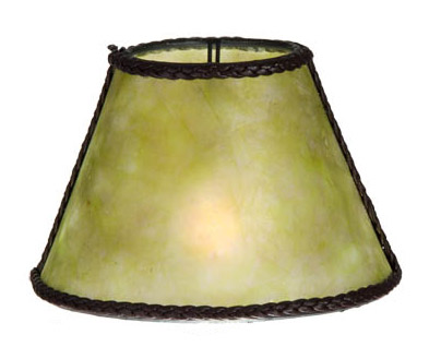 Green Mica Chandelier Shade Mini Empire 00760g B Amp P Lamp