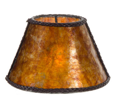 Amber Mica Chandelier Shade Mini Empire 00760m B Amp P Lamp
