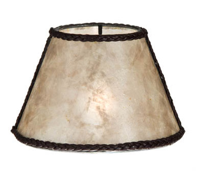 Parchment Mica Chandelier Shade Mini Empire 00760n B Amp P