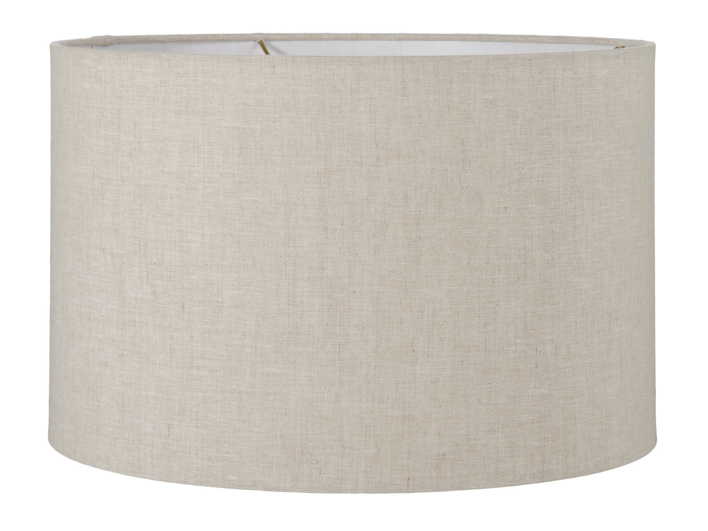 Natural Linen Drum Lampshade 05641a B Amp P Lamp Supply