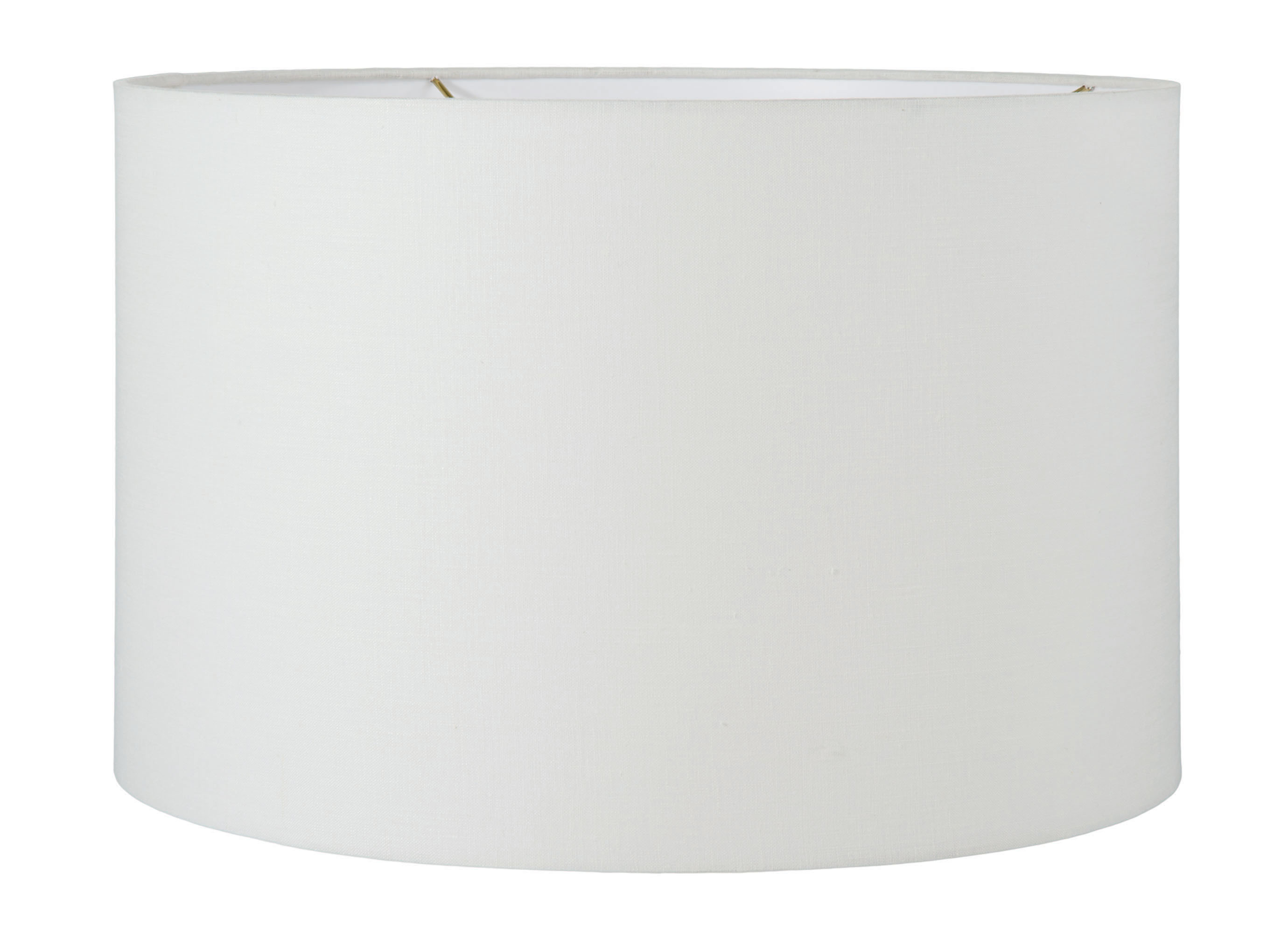 Off White Linen Drum Lampshade 05641f B Amp P Lamp Supply