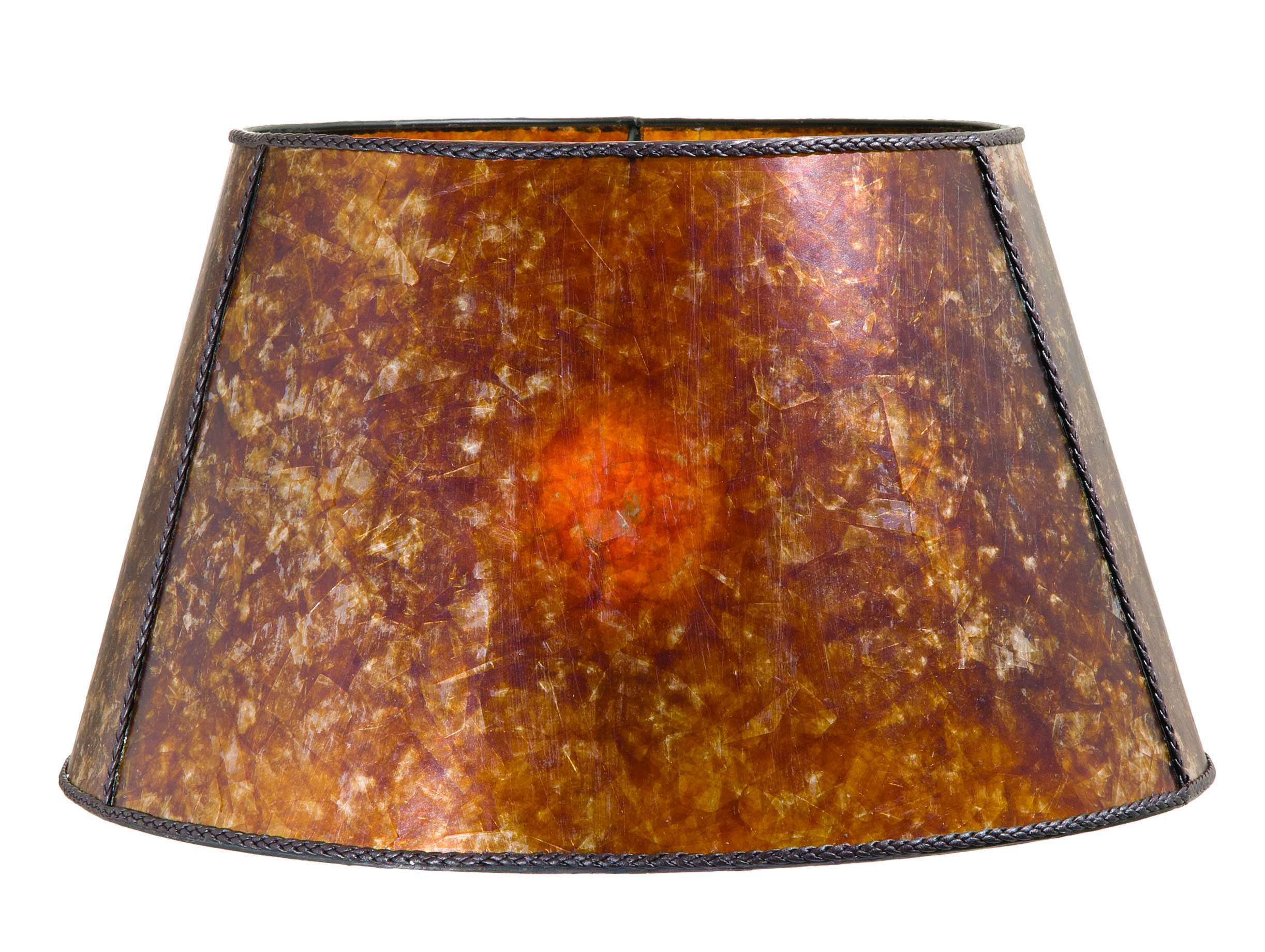 Amber Mica Empire Style Floor Lamp Shade 05719m B Amp P Lamp