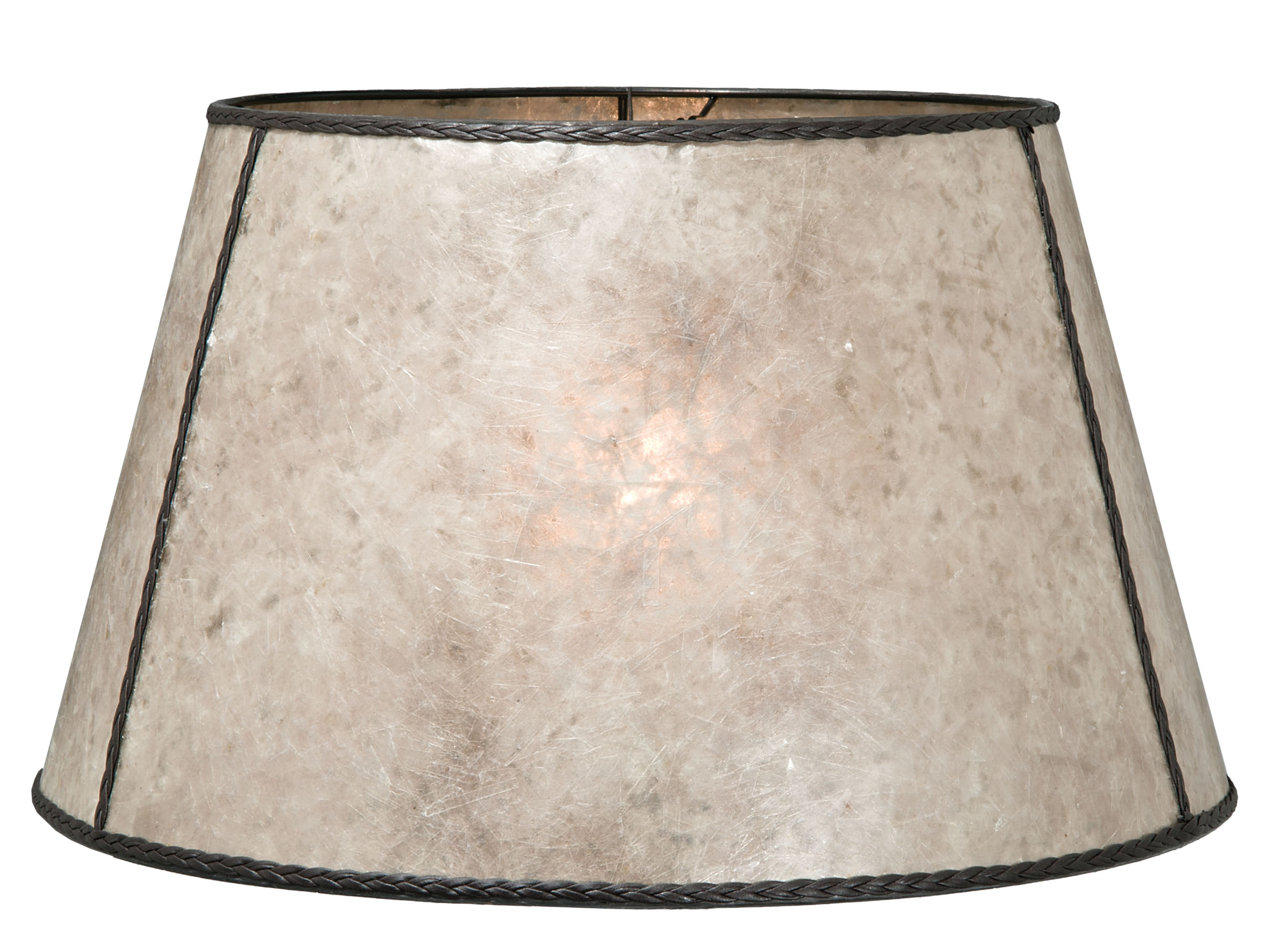 Parchment Color Floor Empire Mica Shade 05719n B Amp P Lamp