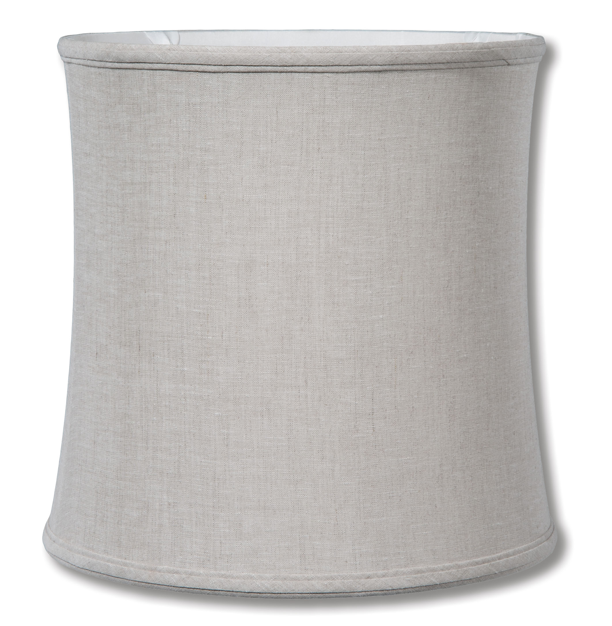 Natural Color Linen Deep Drum Softback Shade 06896a B Amp P