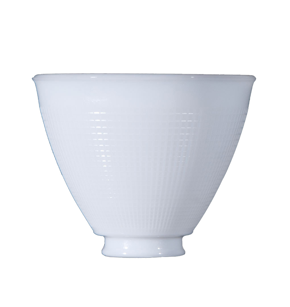 6 Ies Opal Glass Reflector Shade 08390 B Amp P Lamp Supply