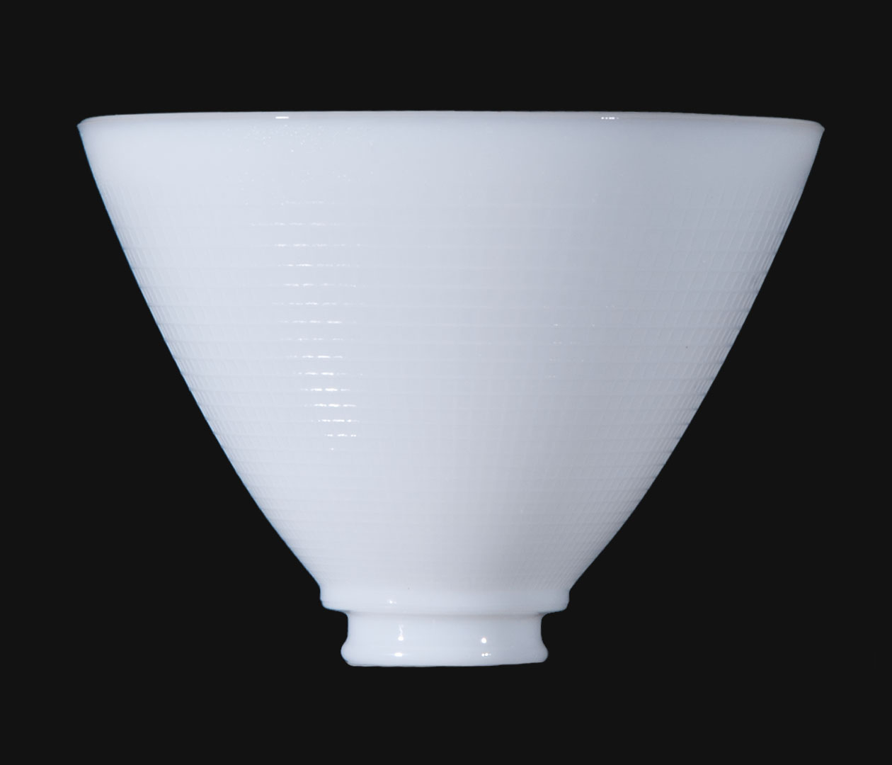 8 I E S Opal Glass Reflector Shade 08391 B Amp P Lamp Supply