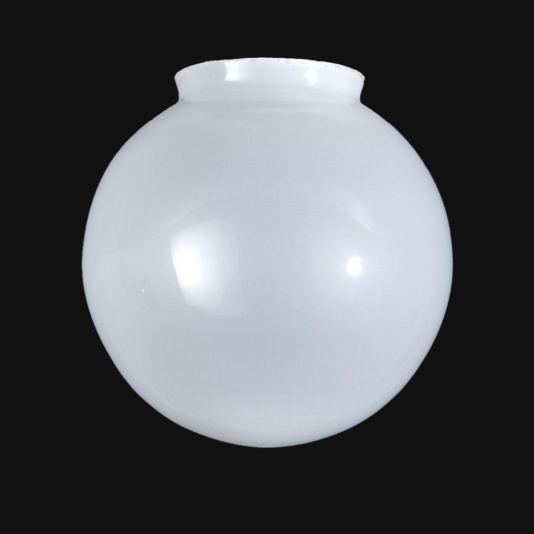 Metal Ball Lamp Shade: Inside Sandblasted Shade Ball Shade 08460