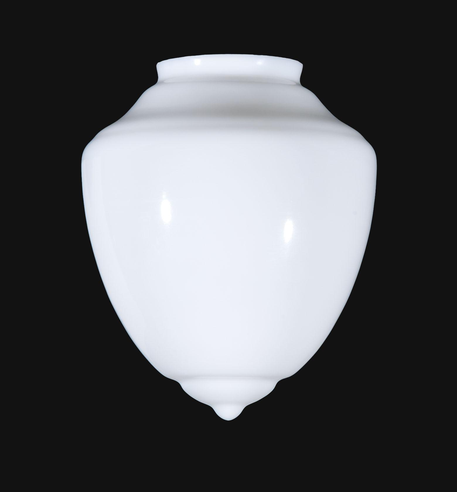 08809 8 Opal Pendant Shade Art Deco Style