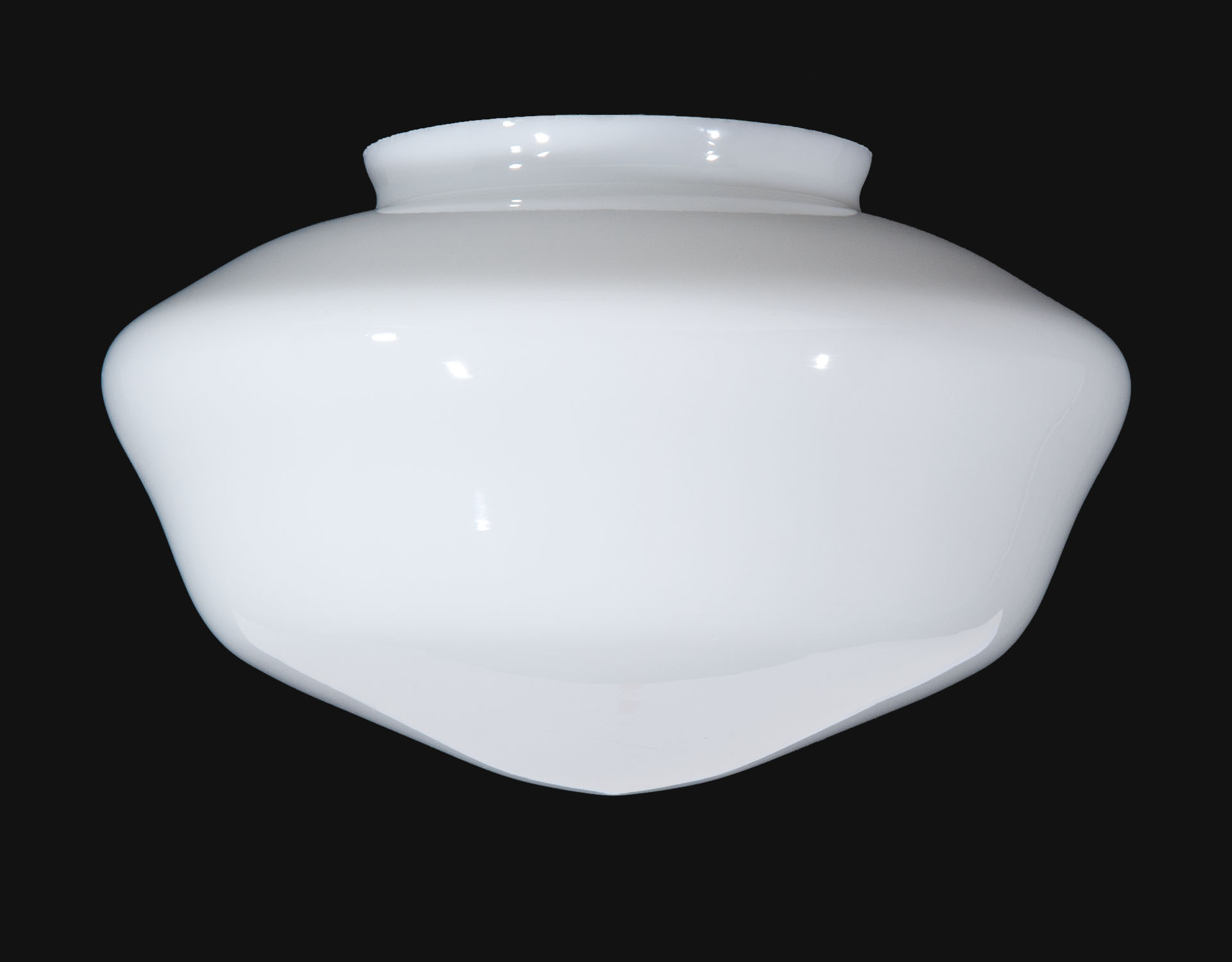 12 Opal Schoolhouse Shade 08816 B Amp P Lamp Supply
