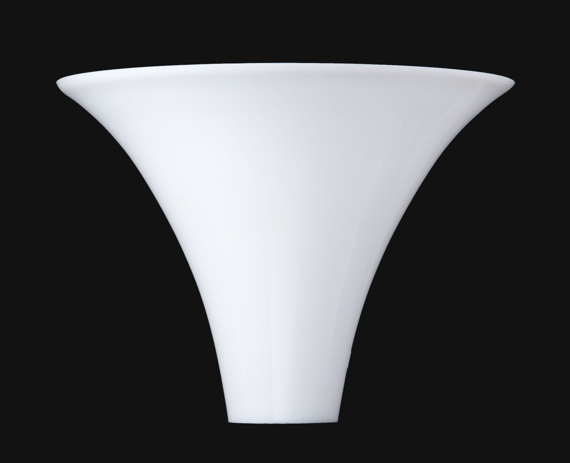 10 opal glass torchiere lamp shade 09087 bp lamp supply for Plastic torchiere floor lamp shade replacement