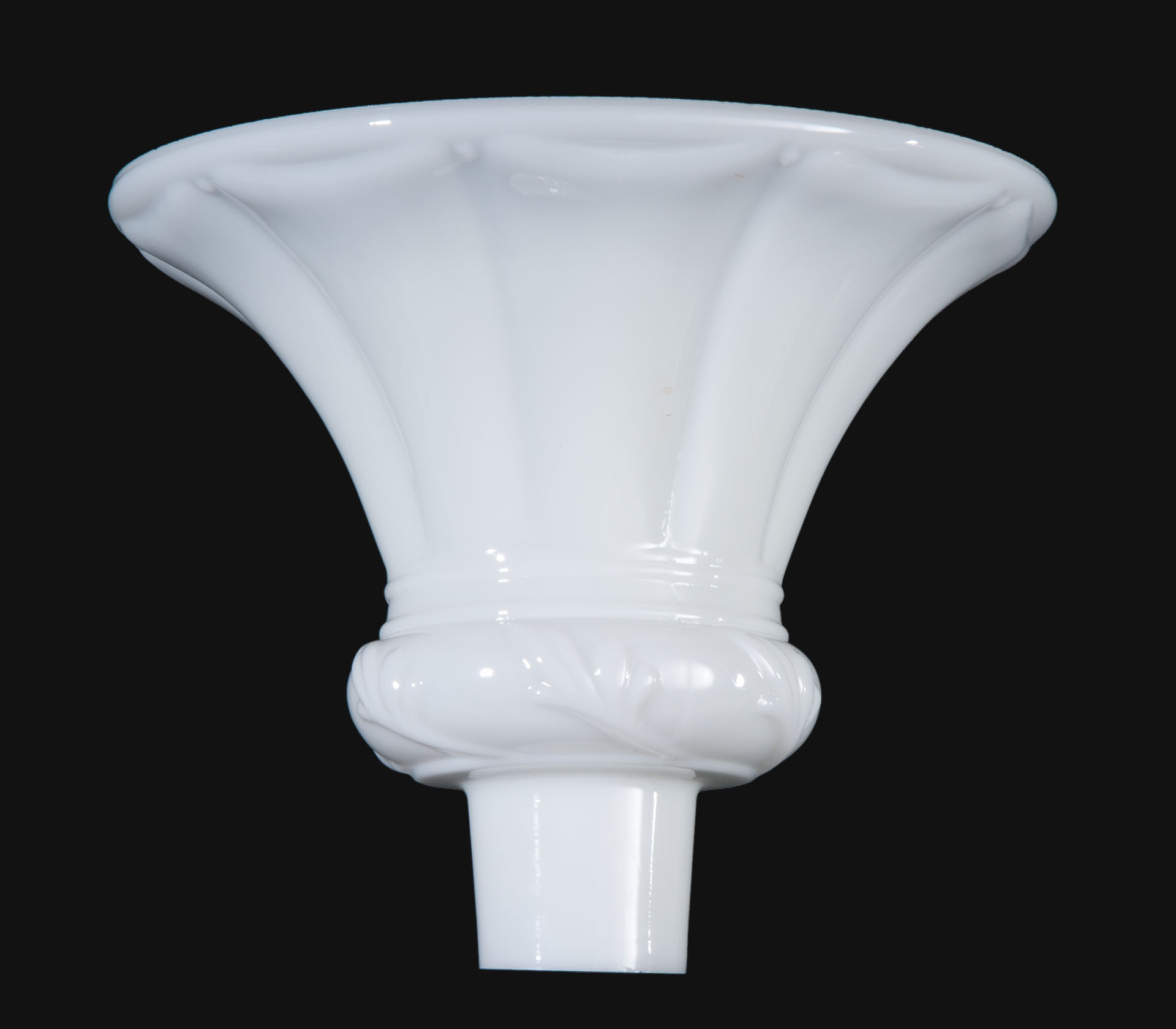 12 1 2 Embossed Opal Torchiere Shade 09093 B Amp P Lamp Supply