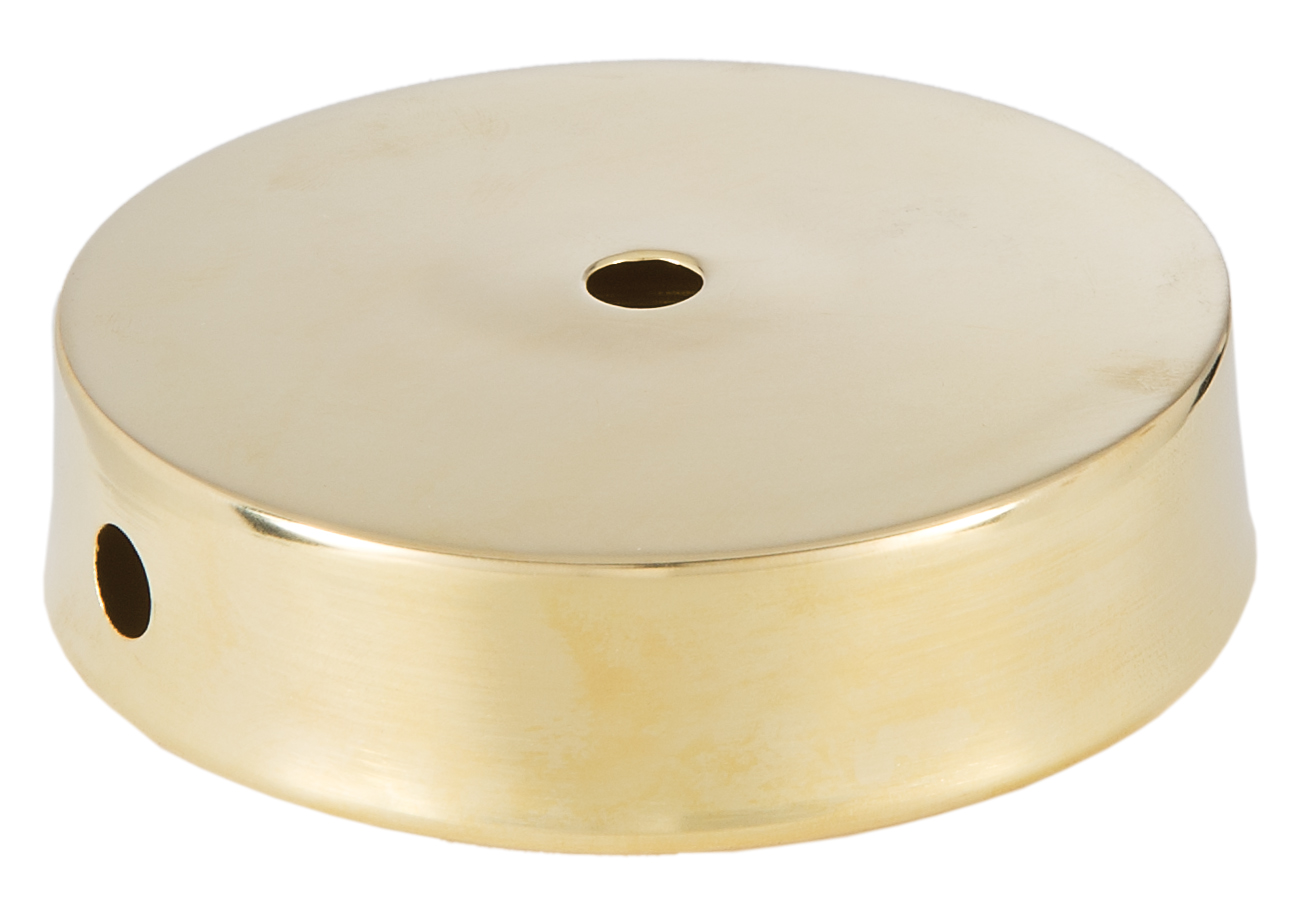 Unfinished Disc Solid Brass Lamp Base 10059u B Amp P Lamp Supply