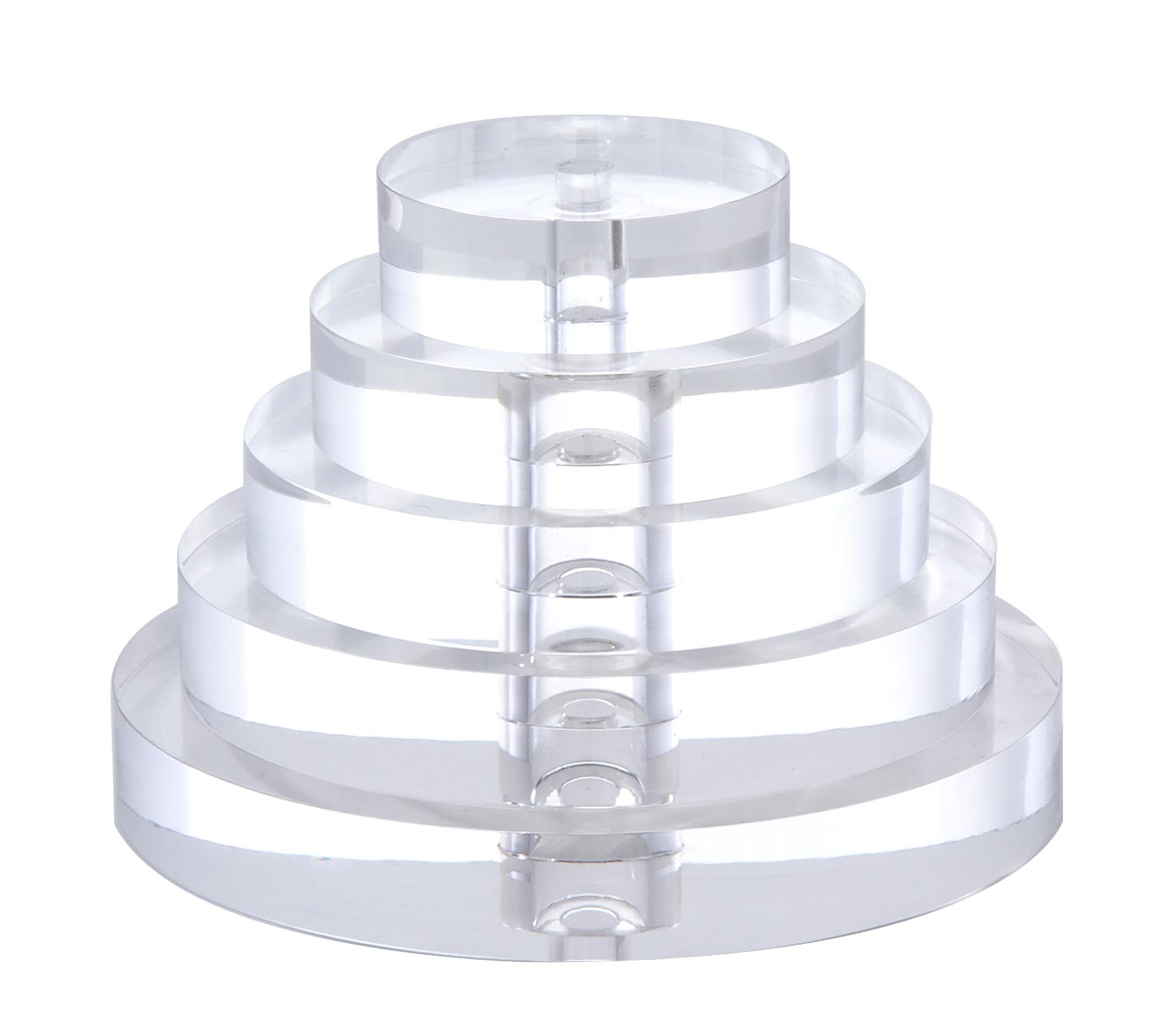 Lamps P: Clear, Round Acrylic Lamp Breaks 10380