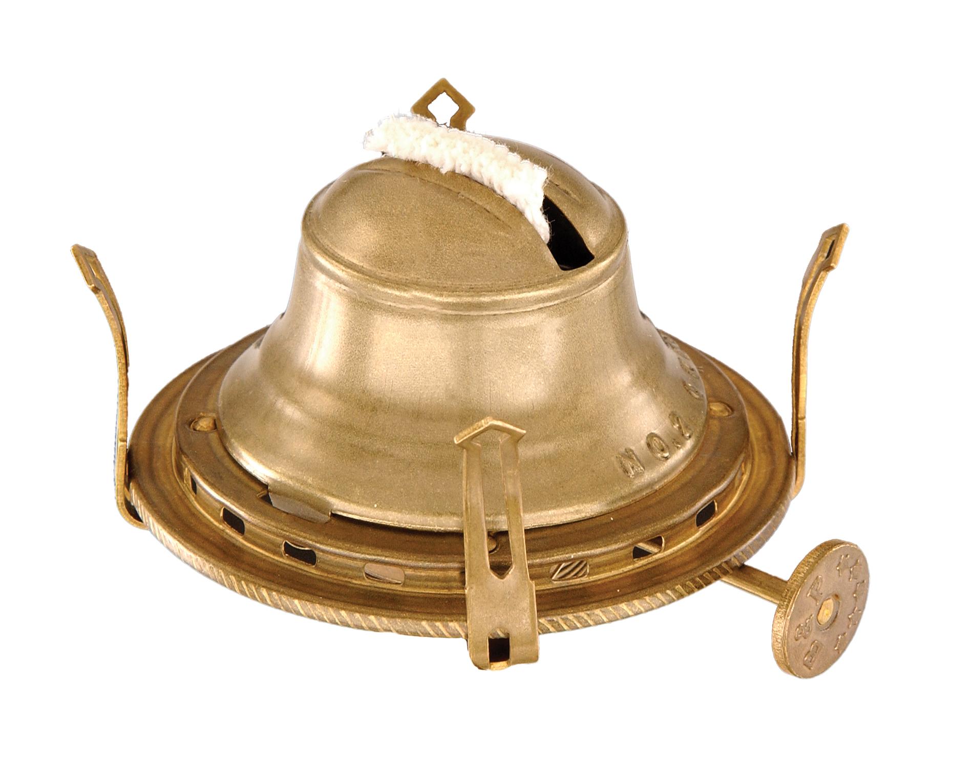 2 Queen Anne Burner W Antique Brass Finish 10622a B Amp P