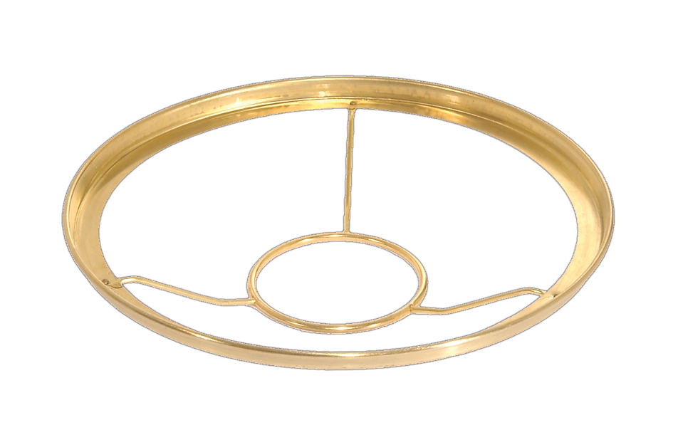 product brass center ring for fixture body