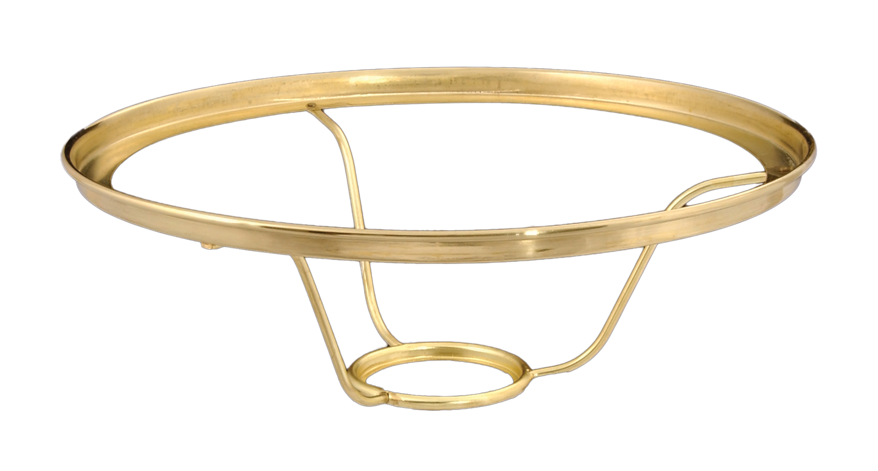 10 Inch Solid Brass Shade Ring Holders Designed To Fit