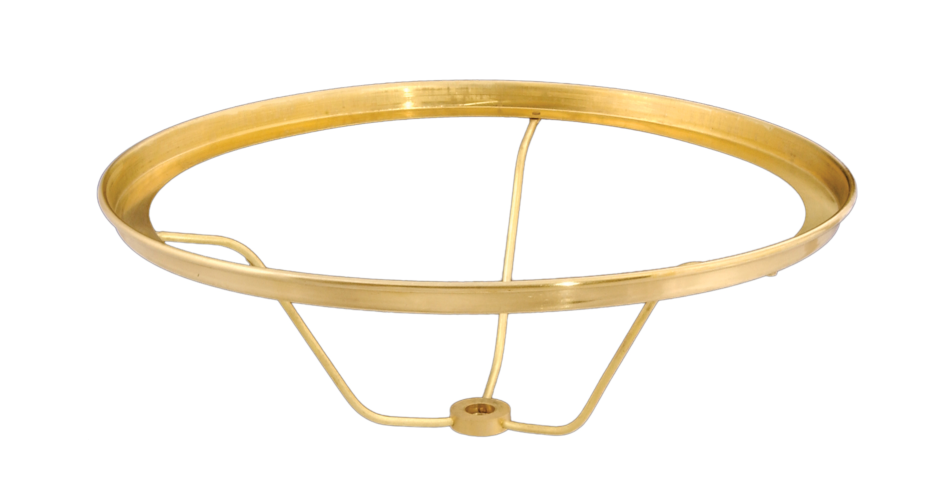Solid Brass Undersocket Type Shade Holder 10740 B Amp P