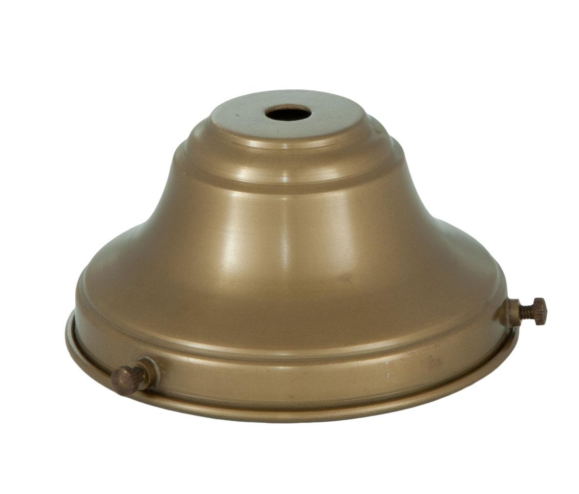 4 Fitter Antique Brass Fixture Shade Holder 10764b B Amp P