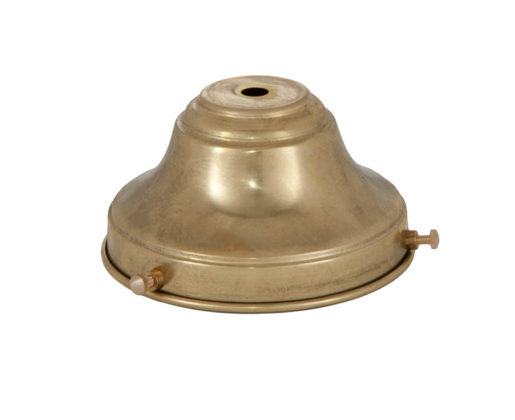 4 Fitter Unfinished Brass Fixture Shade Holder 10764u B