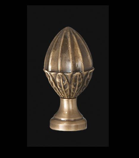 Acorn Lamp Finial 11074a B Amp P Lamp Supply