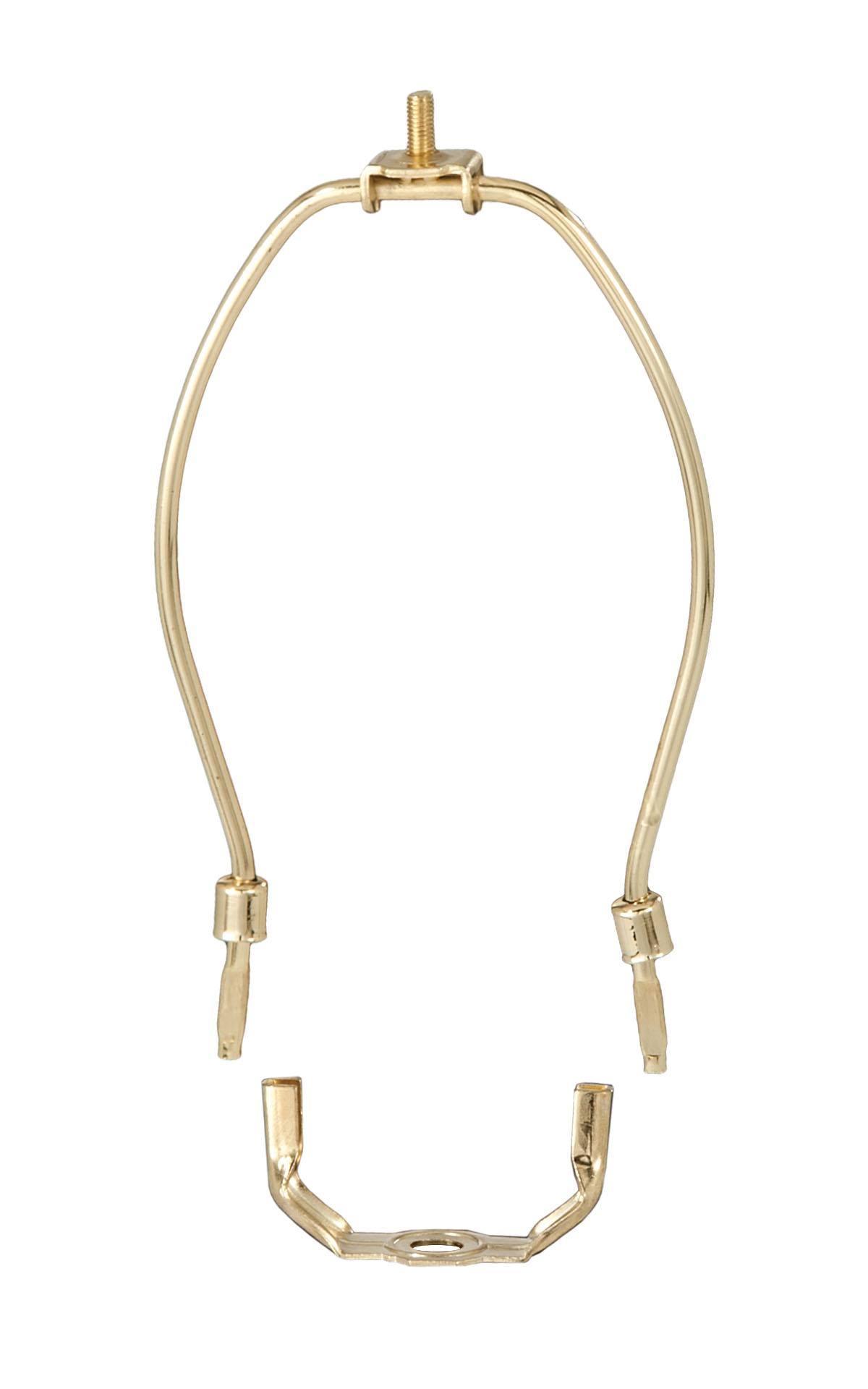 regular weight brass plated lamp harps 12780 b p lamp supply. Black Bedroom Furniture Sets. Home Design Ideas