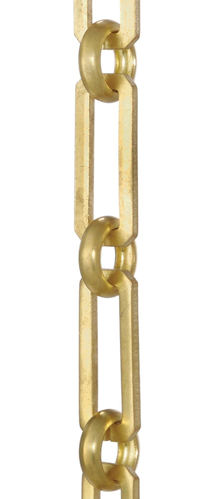 Hand Made Solid Brass Rectangular Shape Chain 12959 B Amp P