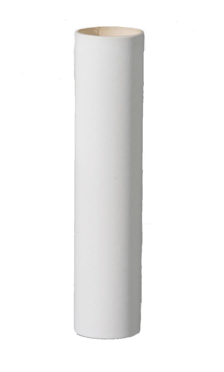 White Candlestick Floor Lamp