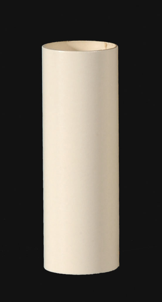Ivory Color Plain Paper Candle Covers 19805i B Amp P Lamp