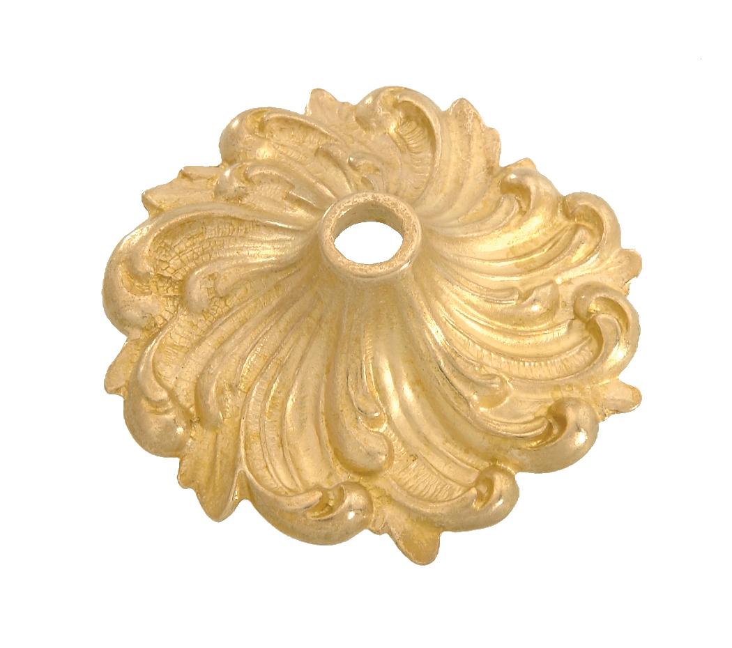 Cast Brass Bobesche 3 1 4 Quot Dia 21854u B Amp P Lamp Supply