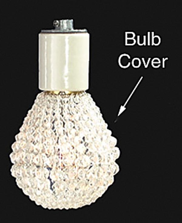 View Image In New Window 21930 Clear Beaded Bulb Cover