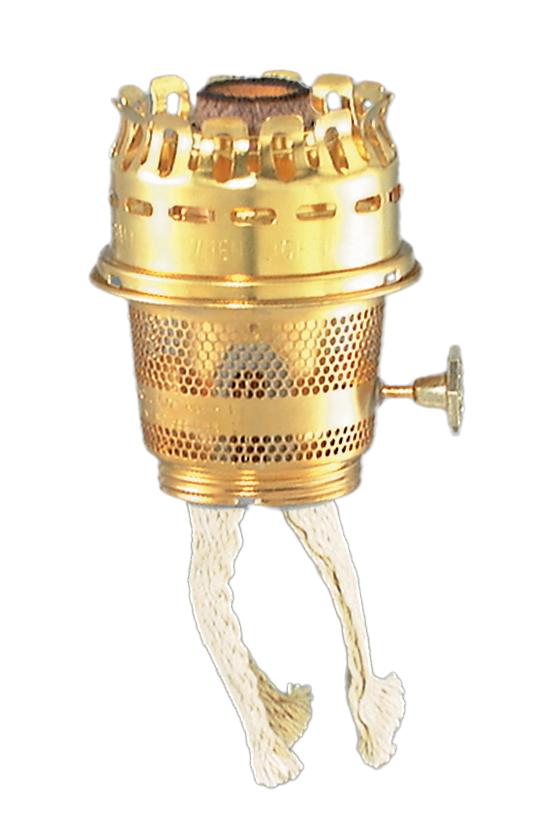 Brass Model 23 Aladdin Brand Burner For Heelless Chimney