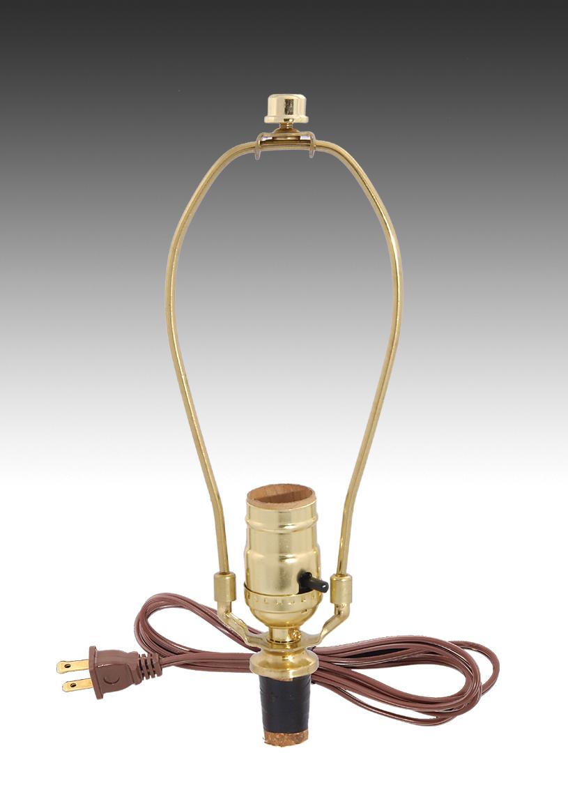Make A Lamp Kit W Harp Finial 30355 B P Supply
