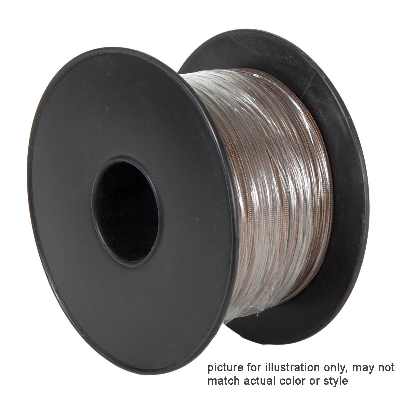White PVC 2-wire Heavy Duty SJT <br>Spooled Lamp Cord 46624 | B&P ...