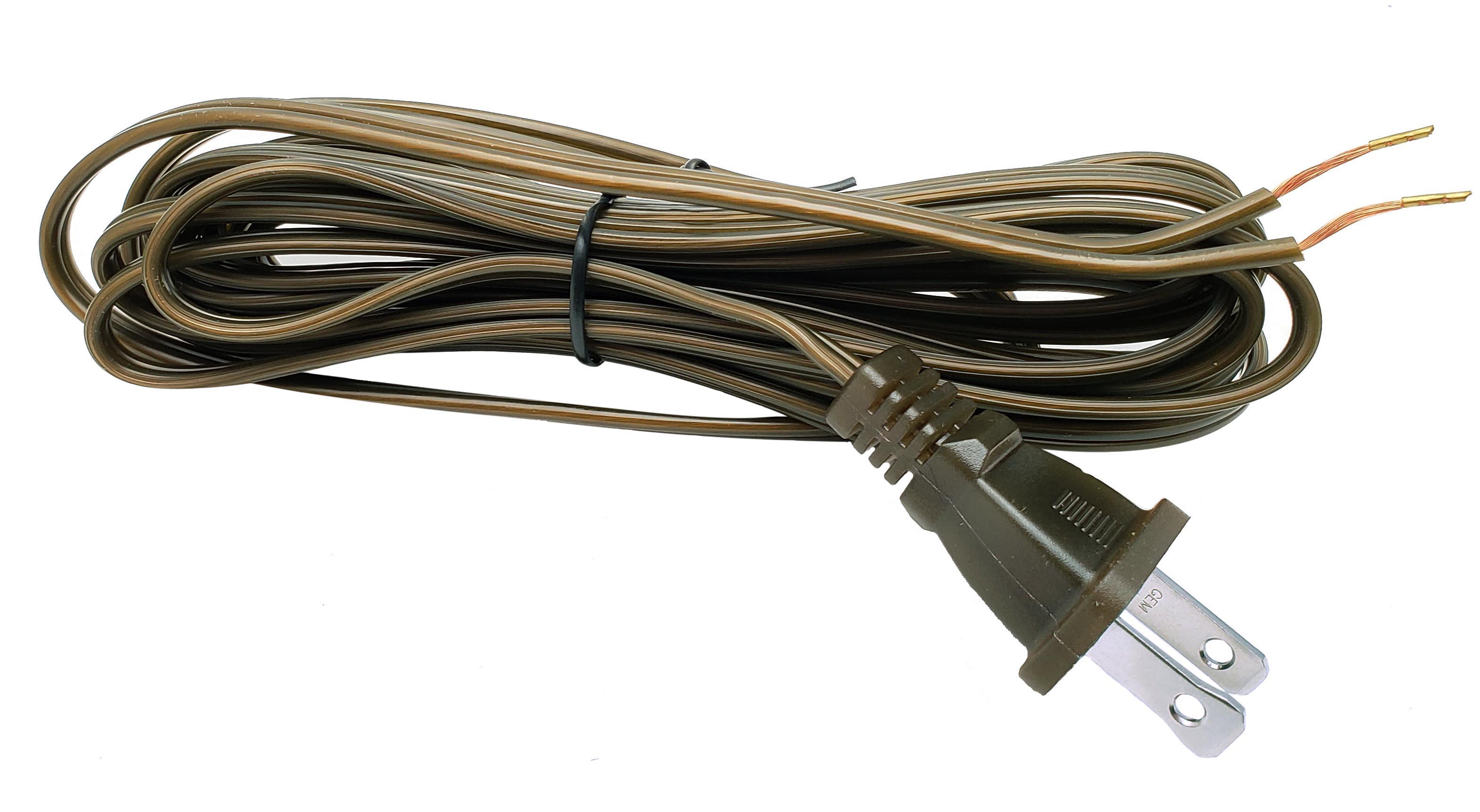 46716   Antique Bronze Color Lamp Cord Set