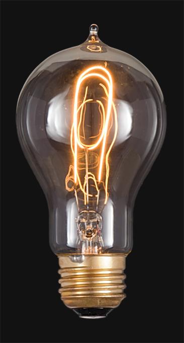 Thomas Edison Victorian Bulb 47090 B P Lamp Supply