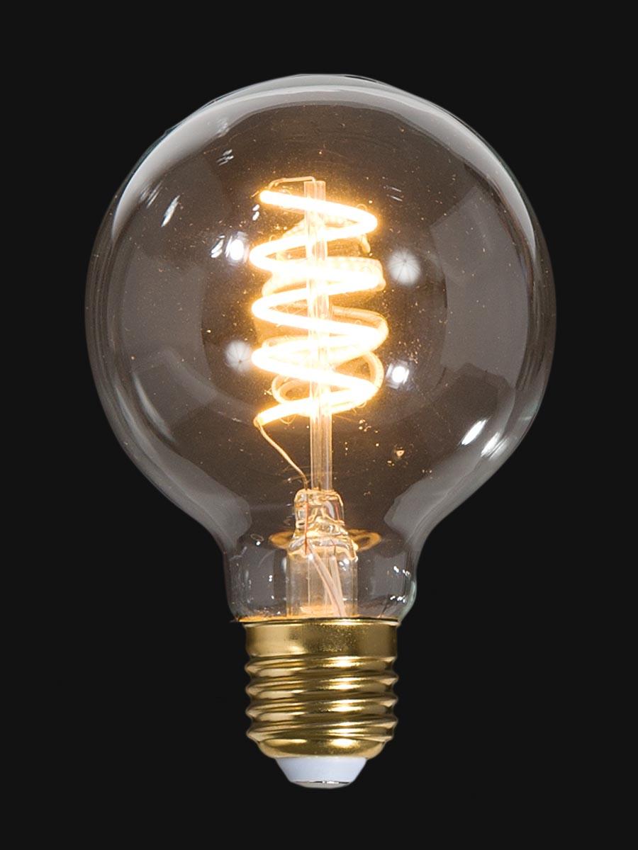 Led Vintage Style Light Bulb G25 Medium Size E26 W Spiral Filament 47261 B Amp P Lamp Supply