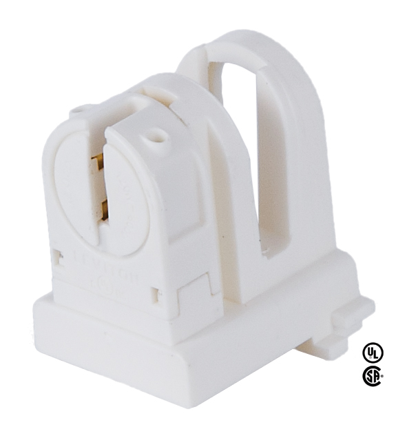 B&P Lamp T-8 to T-5 adaptor, adapts to efficient T-5 lamps G