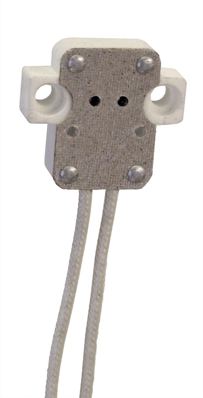 Halogen Bi Pin Socket For G5 3 47645 B Amp P Lamp Supply