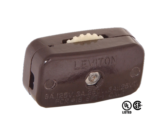 Rotary On Off Lamp Cord Switch 48400 B Amp P Lamp Supply