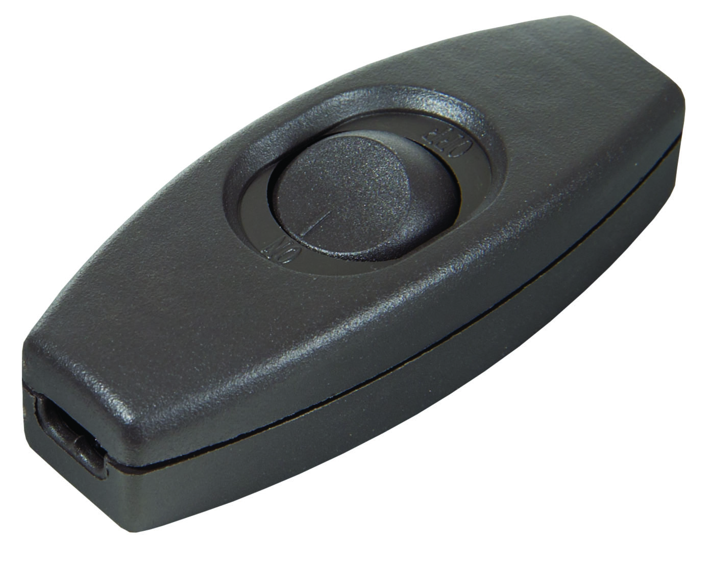 Brown In Line Feed Through Rocker Switch 48424 | B&P Lamp Supply