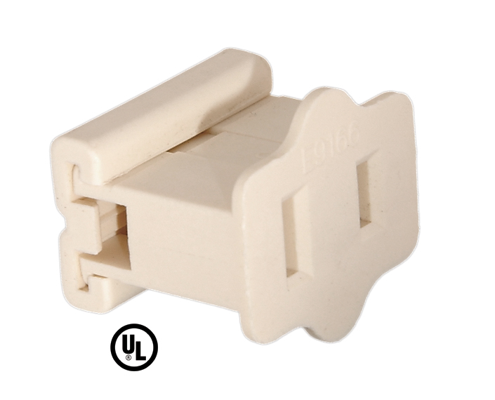 gilbert female end connector 48525 b p lamp supply rh bplampsupply com Electrical Socket Wiring 2 Prong Plug Wiring