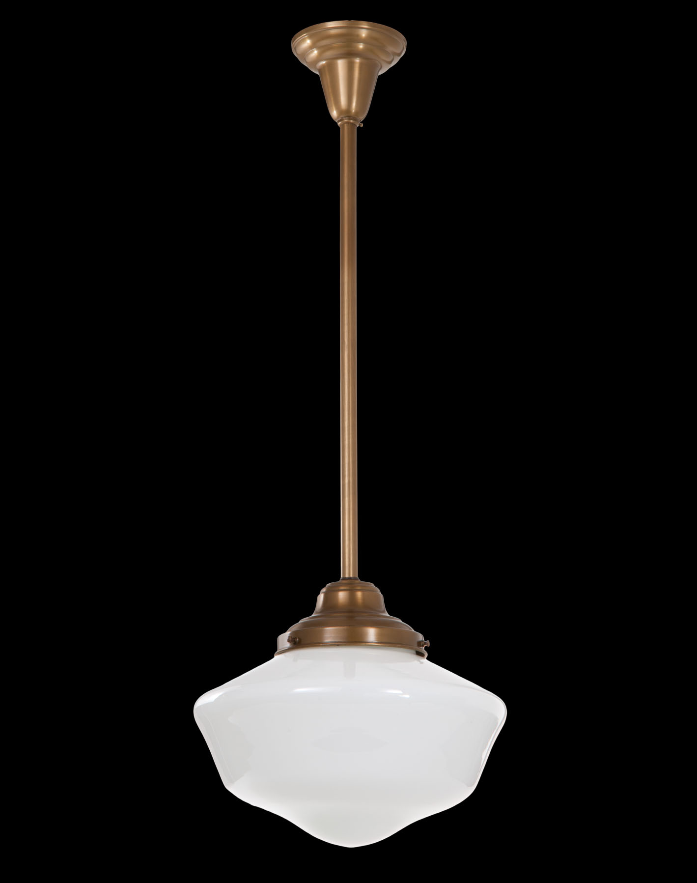 Pendant Fixture With Antique Brass Finish 6 Fitter 69417b