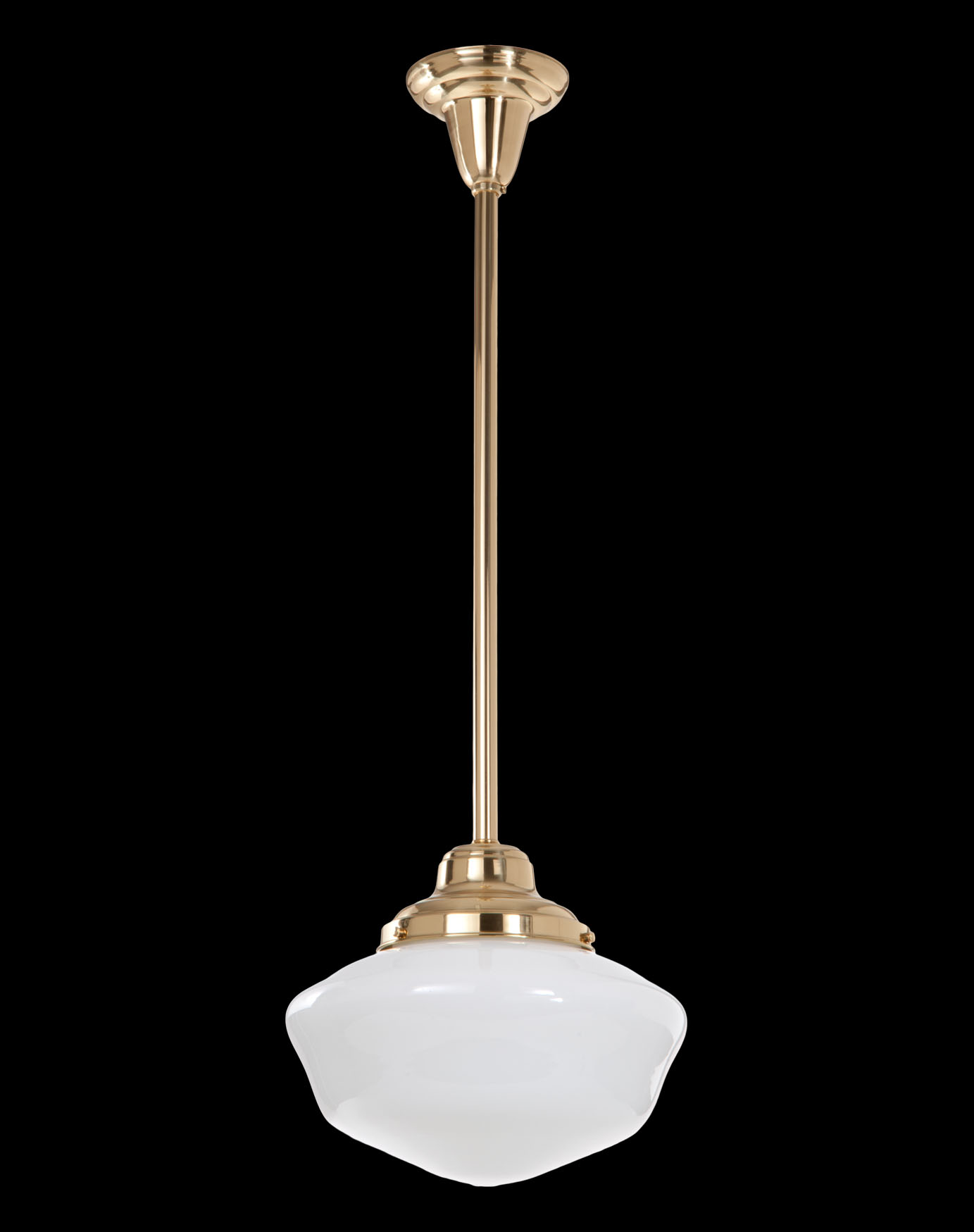 Schoolhouse pendant fixture 4 inch holder 69415 bp lamp supply schoolhouse style pendant fixture w4 inch fitter size shade holder and polished and lacquered brass frame 26 drop pendant fixture comes fully wired and arubaitofo Gallery