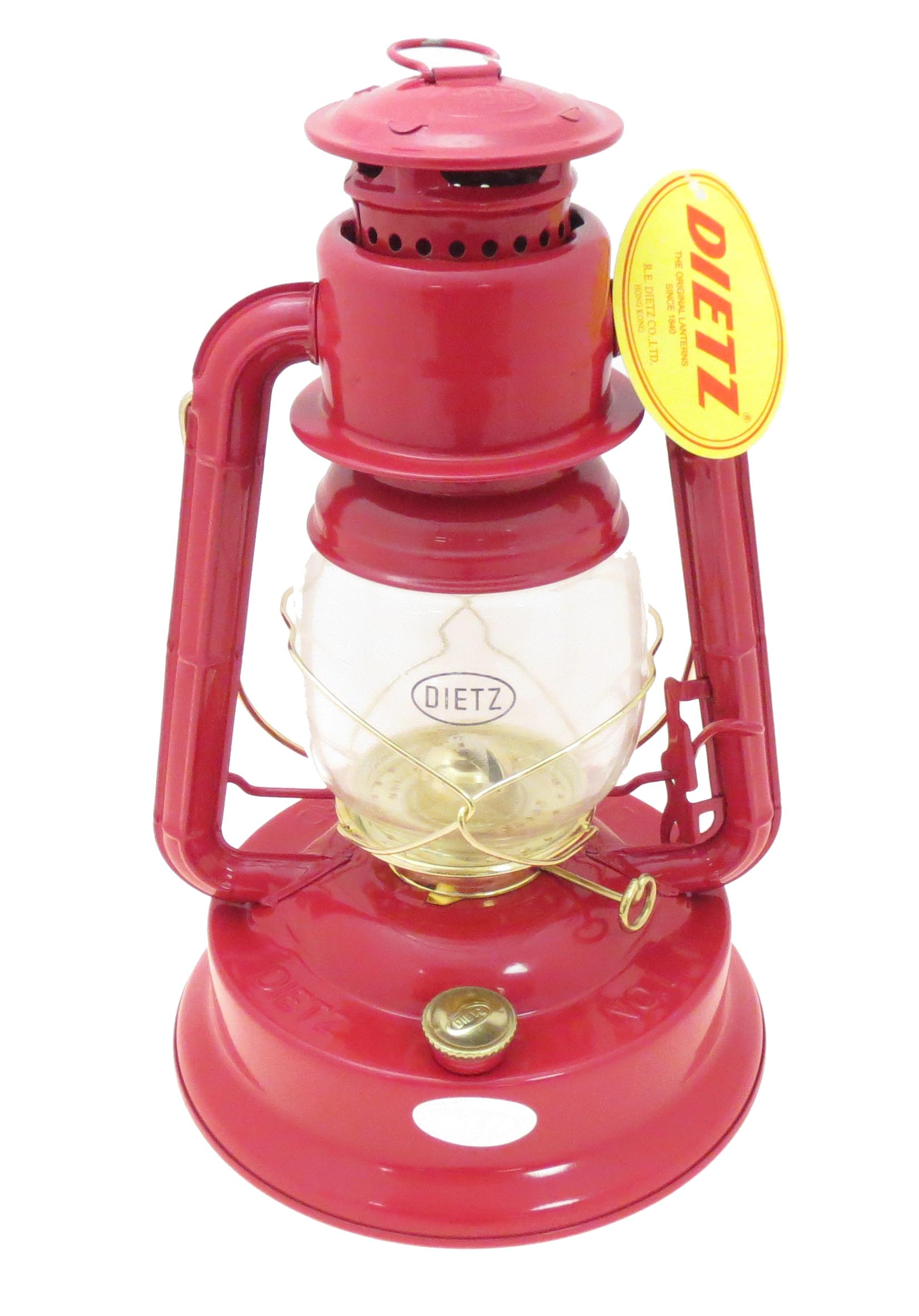 Red And Gold Dietz Brand 1 Little Wizard Oil Lantern