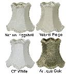 Chandelier Mini Scallop Bell- 100% Pure Silk