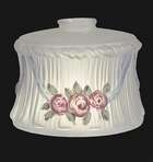 Inside Painted Embossed Roses Shade