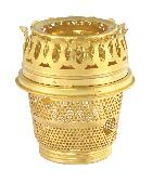 Solid Brass Cut-out Burner For Aladdin Brand Lamps