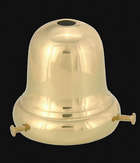 "**2 1/4"" Fitter, Bell-Type Fixture Shade Holder**"